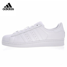 a92851a7 Adidas trébol SUPERSTAR Fundación hombres y mujeres caminando zapatos,  blanco, usable transpirable antideslizante ligero