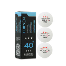 3pcs Pingpong Balls Table Tennis Professional Three-star Level ABS 40+mm Table Tennis Balls Racquet Sports Accessories Kit(China)