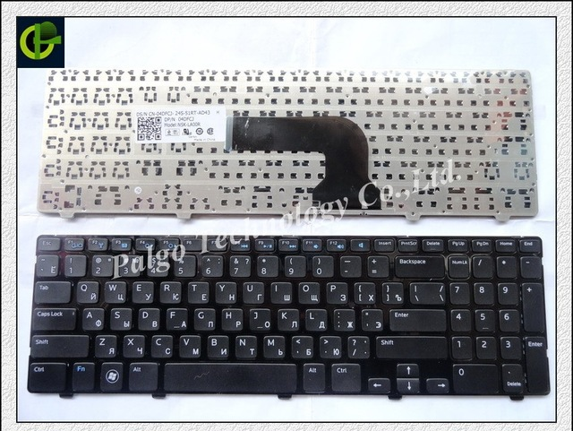 Russian Keyboard for Dell insprion 15V 15R 15VR 1316 15R-3521 15R-5521 5521 2521 3521  5421 M531R 3537 5528 3328 Black RU