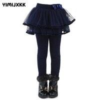 春と冬の子供のズボン服女の子スカートパンツファッション厚いビロードレギンス用ベビー女の子