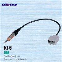 Liislee Kia Için Araba Radyo Anten Adaptör Kablosu Tel 2009-2015 Aftermarket Stereo CD DVD GPS Kurulum Kitleri Aksesuarları