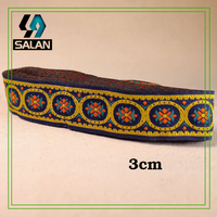 National Wind Costume Chinese Costume Collar Belt Decorative Ribbon Stage Features Retro Lace Ribbon Clothing Accessori