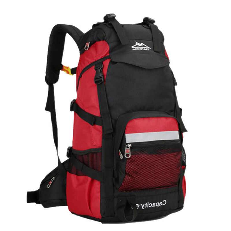 2018 50л   Открытый многоцелевой большой спортивный высоко-качественный  рюкзак  путешествия /восхождения/кемпинга