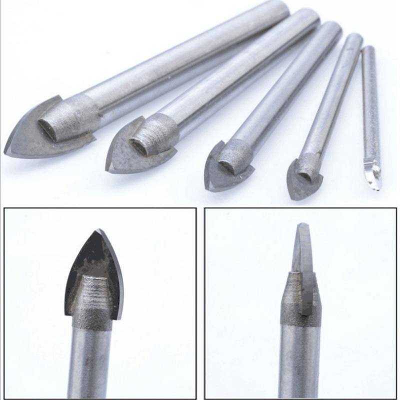 Taladro de herramientas eléctricas de vidrio / azulejo / pared / 5 - Broca - foto 5