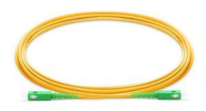 Image 2 - SC APC Fiber Patch Cable optical fiber Patch cord 5m 2.0mm PVC G657A ,1m 2m 3m 10m fiber Jumper Simplex SM FTTH Optic Cable