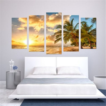 Wall Art Paintings Unframed Modern Art Oil Painting Print Canvas Picture Home Wall Room Decoration