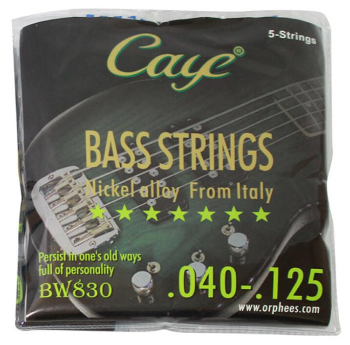 10 Sets Italy Orphee CAYE BW830 Nickel Alloy Guitar Strings For Electric Bass Strings 5 Strings
