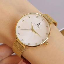 hot deal buy alk gold watch women ladies creative watches fashion woman watches 2017 brand luxury women dress watch waterproof stainless
