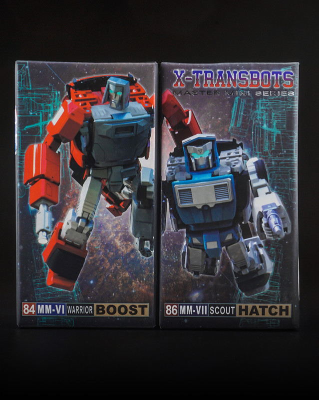 X-TRANSBOTS MM-VI BOOST AND MM-VII HATCH,In stock! new in stock vi 261 cu 07