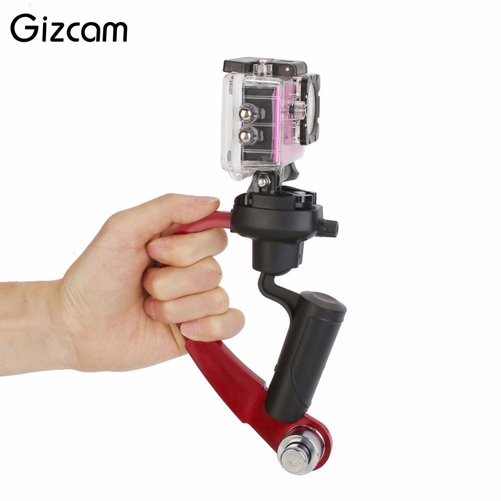 Gizcam Mini Handheld Stabilizer Steady for Gopro Hero 2 3 3+ 4 5 for SJcam SJ4000 for Xiaomi Yi DV DSLR Camera