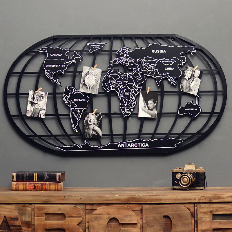 Aliexpress buy vintage iron metal globe world map southern aliexpress buy vintage iron metal globe world map southern and northern hemisphere home office bar top cool retro top decor art from reliable map gumiabroncs Gallery