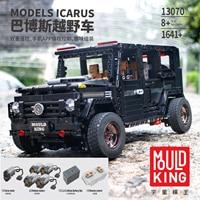 APP Remote Control Technic legoinglys SUV G5500 AWD Wagon RC Motors Car Sets Building Blocks Bricks Educational Toys 20100
