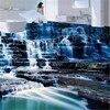 Papel De Parede Custom Ground Waterproof Stereo Stickers 3D Floor Tiles Stickers Flooring Waterfall Wallpaper Mural