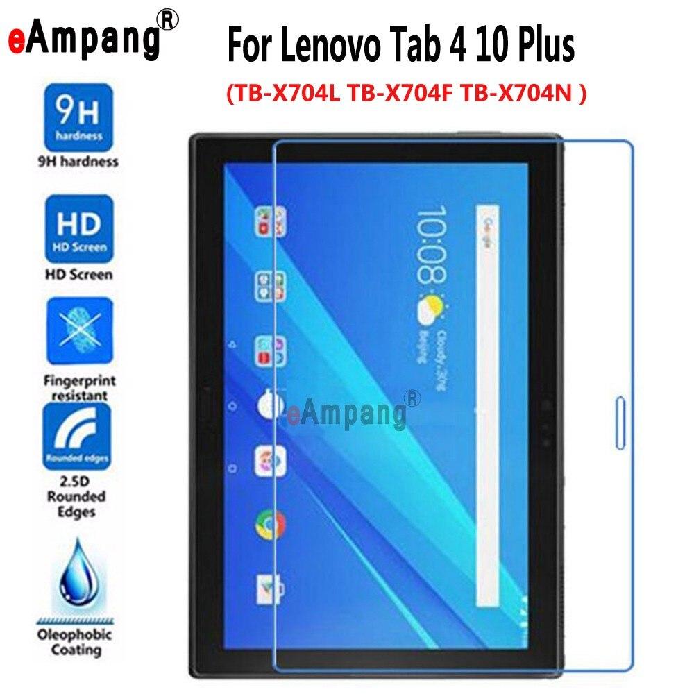 En Verre trempé Pour Lenovo Tab4 Tab 4 10 Plus 10.1 «TB-X704L TB-X704F TB-X704N Écran De Protection Film Tablet PC Écran protecteur