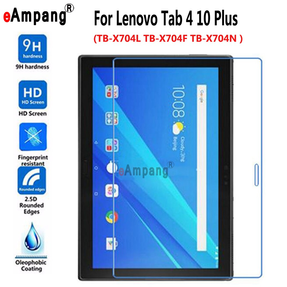 Tempered Glass For Lenovo Tab4 Tab 4 10 Plus 10.1 ' TB-X704L TB-X704F TB-X704N Screen Protective Film Tablet PC Screen Protector