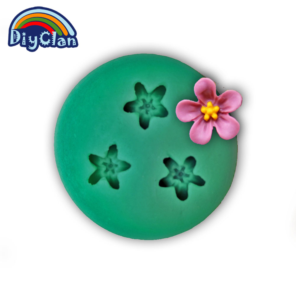 New DIY silicone molds for cake decoration fondant mold flower chocolate mould moldes de silicone para confeitaria F0277HM35