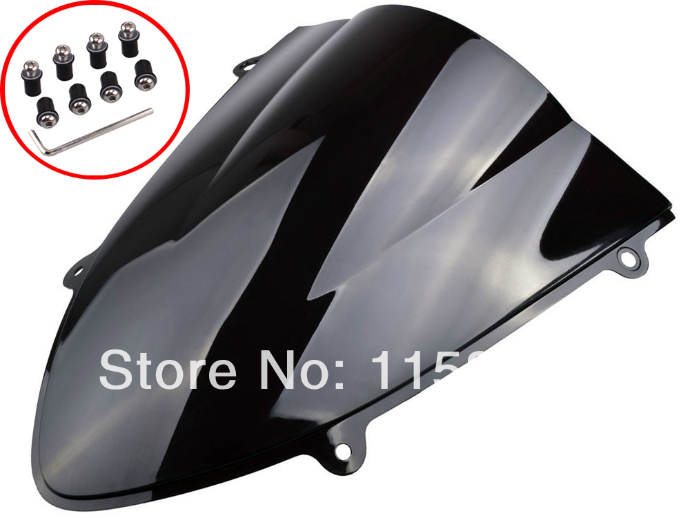 TINT SMOKE DOUBLE BUBBLE WINDSHIELD WINDSCREEN FOR KAWASAKI NINJA 250 250R 2008-2012 FREE SHIPPING the development of 51 single chip learning board 4 4 4 color led lightdiy electronic parts cotted production suite