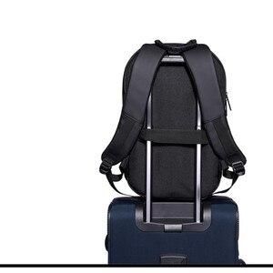 Image 3 - OZUKO Backpack Men Hard Shell Backpack Waterproof Anti Theft Travel Bags Black Creative Alien Casual Laptop Teenage School Boy