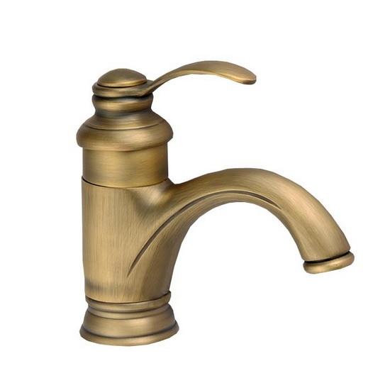 Античная Латунь Однорычажный Ванная комната бассейна горячей и холодной смесителя кран cnf034