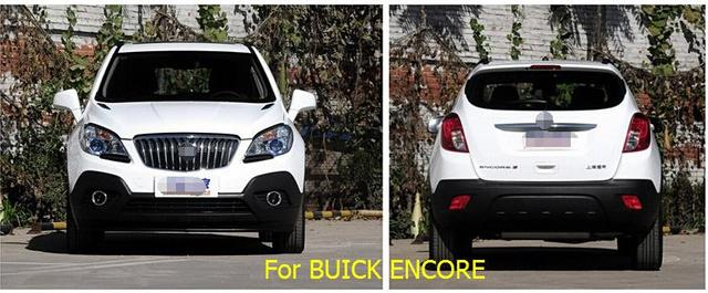 Ventana Toldos Viseras Deflector de Viento Lluvia Visera Guardia Vent 4 piezas Para Vauxhall/OPEL Mokka/BUICK ENCORE 2013-2015
