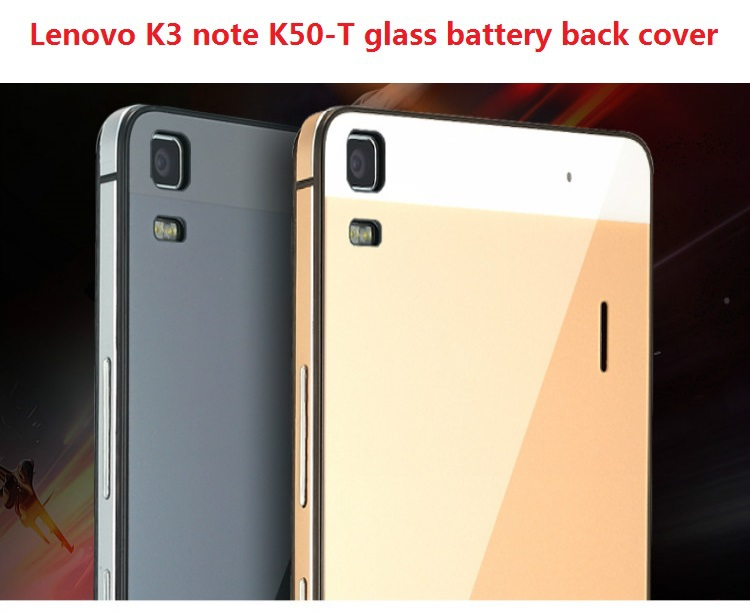 official photos 8bb79 5e10b US $10.88 |For LENOVO K3 NOTE case metal frame+temepered glass back cover  for for lenovo k3 note K50t T5 phone shell by free shipping on ...