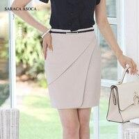 Spring Autumn Plus Size XXXL New Fashion Career Slim Hip Bust Skirt Female 3 Color High Waist Straight Work Skirt Women's