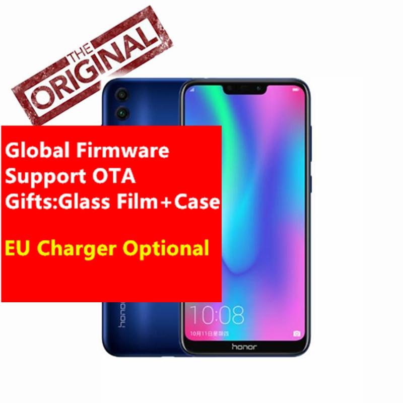 Global Firmware Honor 8C Cell phone Octa Core 6 26 Full Screen HD 1520x720 Qual comm