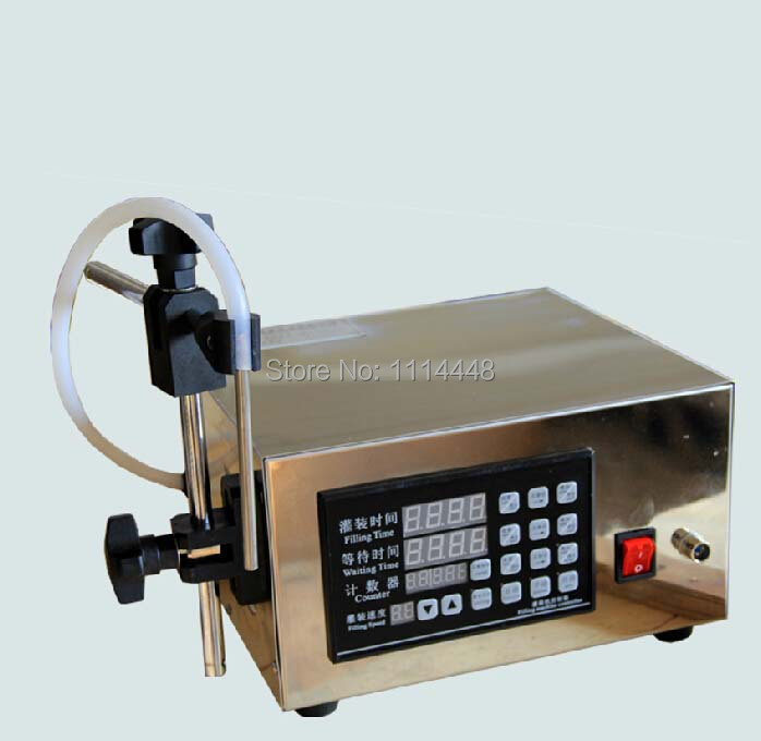 Microcomputer Control Automatic Water Liquid Filling Machine Liquid Filler 5 ml-3500 ml automatic numerical control liquid filling machine quantitative filling machine milk weighing filling machine 110 250v 1pc