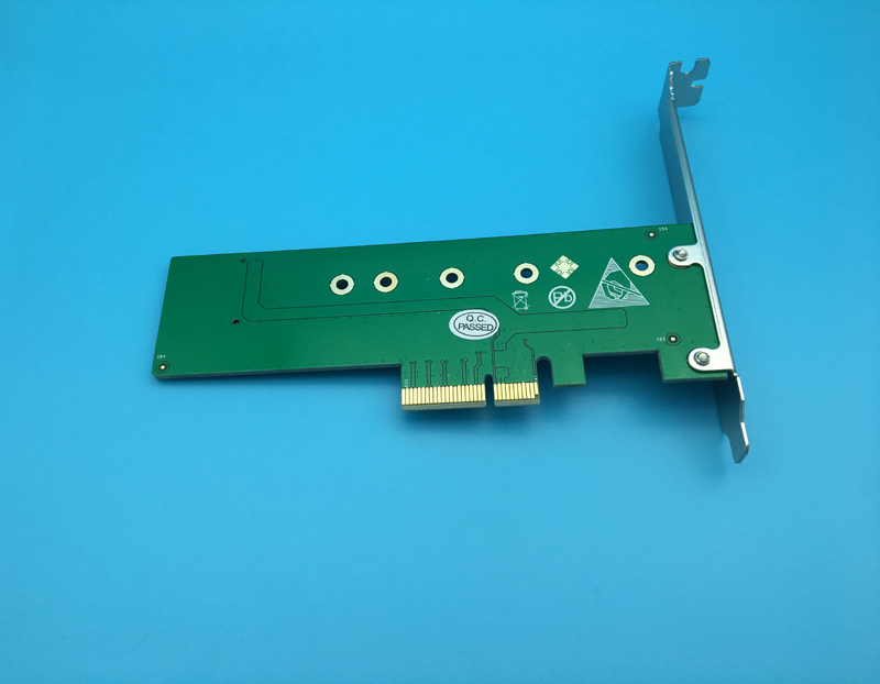 M.2 PCIe 4 Lane SSD To PCIe 3.0 X4 Adapter PCIE X4 To NVMe/M.2 NGFF (M Key) Card