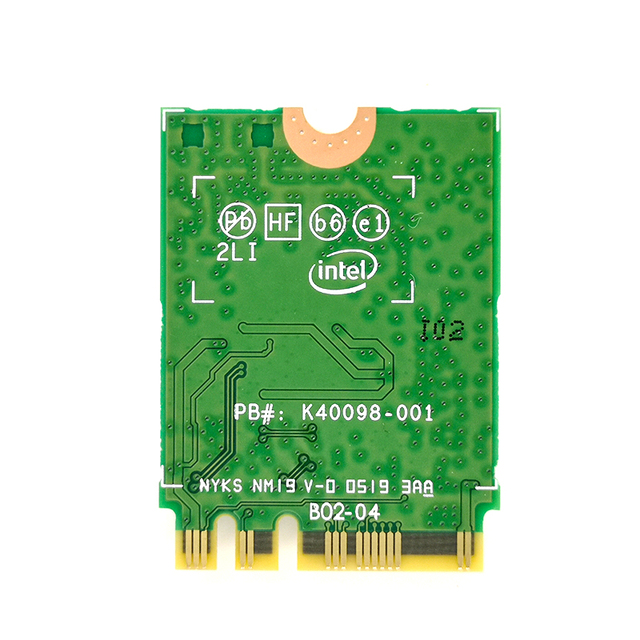 Wtxup 2400Mbps Wireless Ax200Ngw Ngff Network Wifi Card For Intel Ax200 2.4G/5Ghz 802.11Ac/Ax Wi-Fi Bluetooth 5.0 2