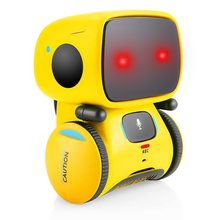 Intelligent Robots for Kids Dance Music Recording Dialogue Touch-Sensitive Control Interactive Toy Smart Robotic for Kids(China)