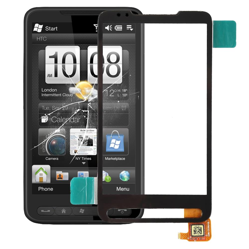 High Quality For HTC HD2 Touch Screen Digitizer Touch Panel Lens Glass Replacement Part