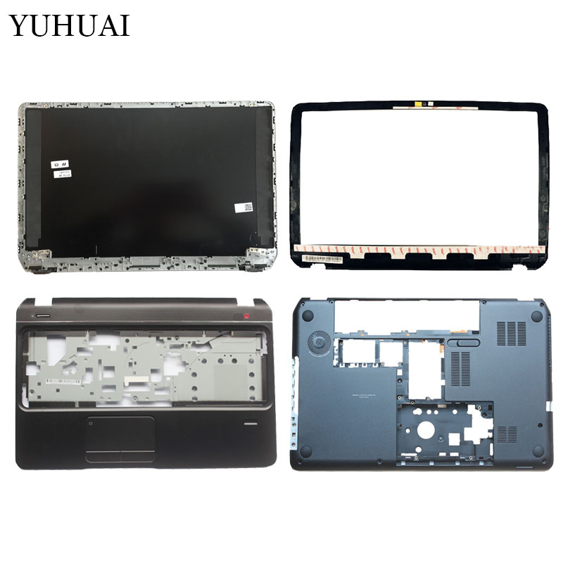 NEW laptop cover For HP pavilion M6-1000 M6 AM0R1000900 LCD TOP cover/LCD Front bezel/Palmrest upper case/bottom case cover brand new laptop for dell inspiron 15 15r 5521 5537 3537 3521 lcd back cover upper cover bezel case palmrest cover bottom case