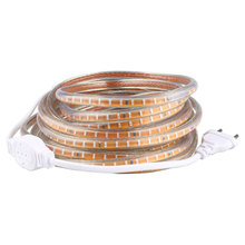 SMD 3014 AC220V led strip light 120 Leds/m IP67 waterproof led Strips with EU Power Plug Flexible Lighting for Home Party
