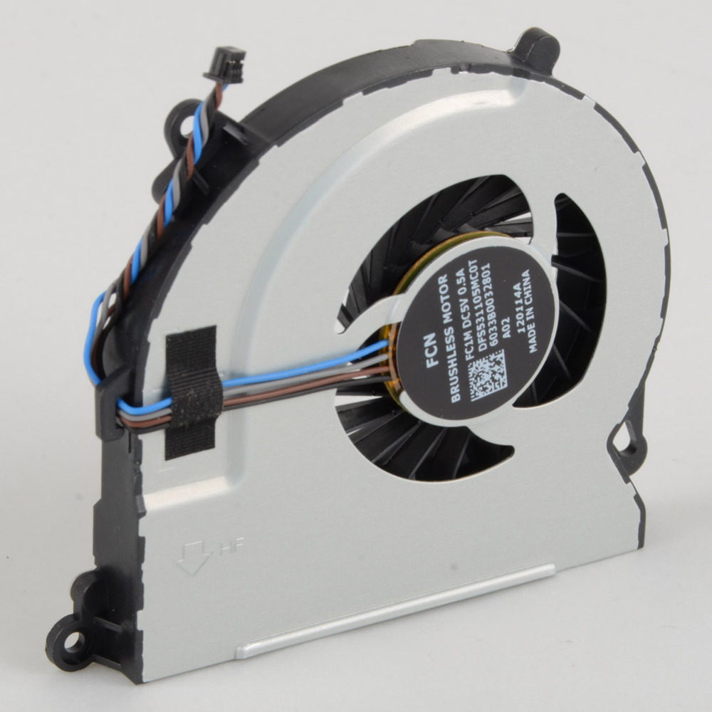 Notebook Computer Cpu Cooling Fans Replacements Fit For HP ENVY 15 720235-001 720539-001 6033B0032801 Cooler Fan VC341 computer graphics cards cooler fan colorful 75mm 12v 0 18a replacements for 9800gt 9600gt graphics cards fans red color p0 11