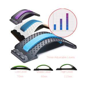 Image 3 - Stretch Equipment Back Massager Magic Stretcher Fitness Lumbar Support Relaxation Mate Spinal Pain Relieve Chiropractor message