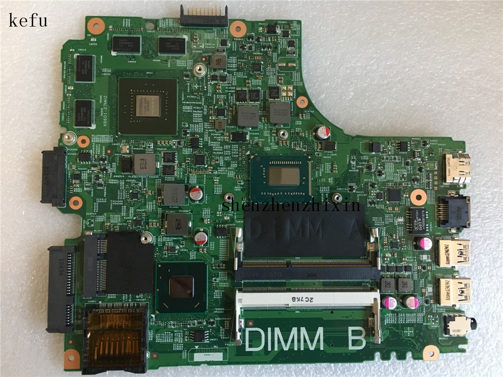 Laptop Motherboard DDR3 FOR Dell Inspiron 3421/5421 04xfvj/4xfvj/Ddr3 PWB:5J8Y4 REV:A00