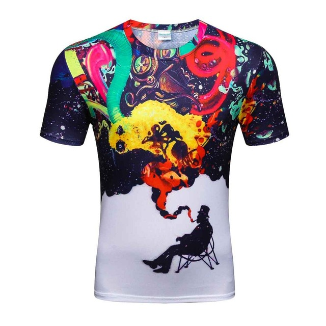 2018 batman compression shirt fitness tights crossfit quick dry short sleeve t shirt Summer Men tee tops clothing