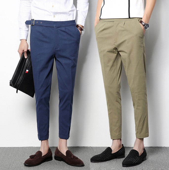 Cheap blue dress pants