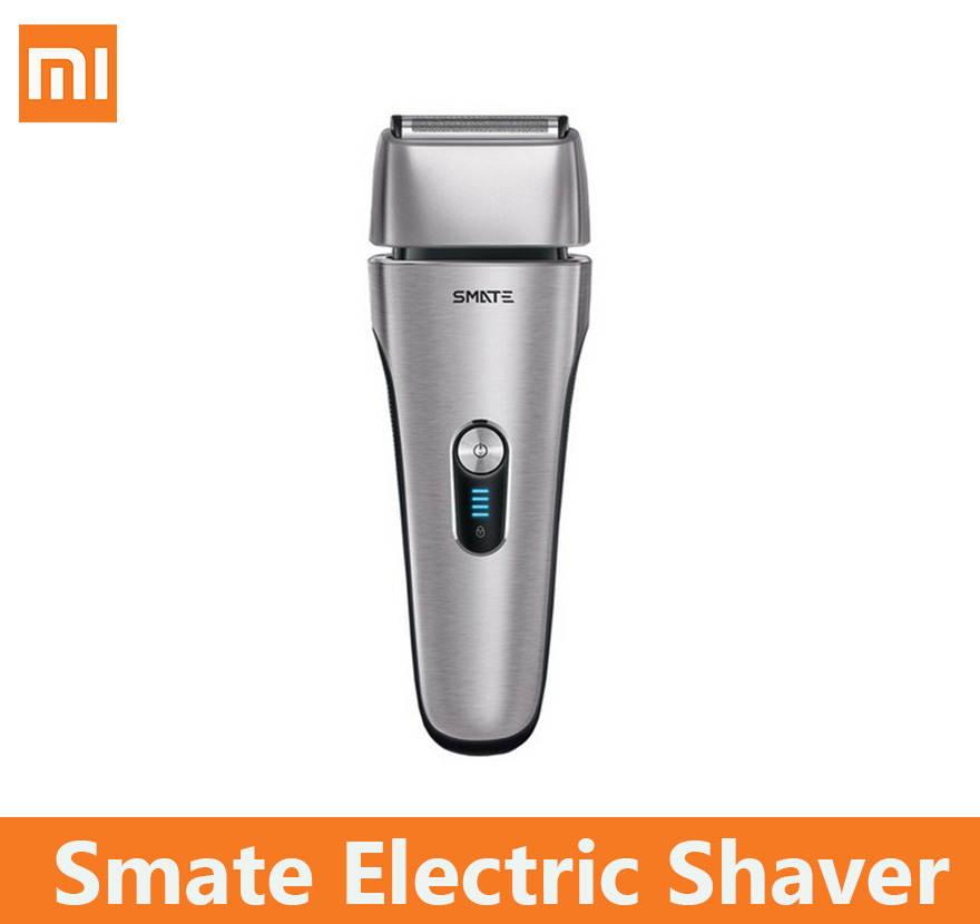 xioami smate Electric shaver xumei skin care protect no harm Dry Wet fast clean 4 Blade
