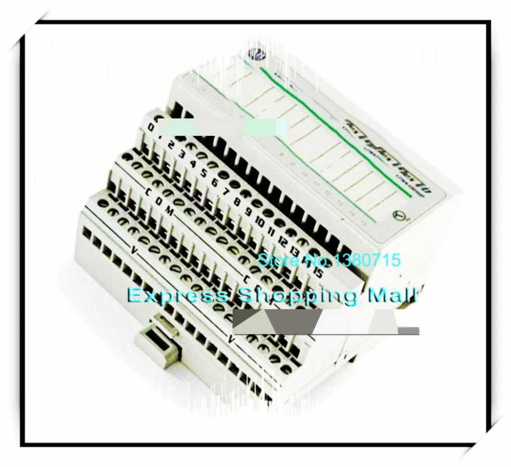 New Original 1794-OB16 PLC 24VDC 16 Current Sourcing FLEX Digital DC Output Module free shipping new original 1794 tb3 plc cage clamp terminal base