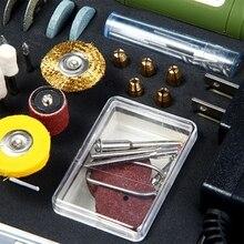Multi-functional 80pcs 12W Mini Electric Rotary Drill Grinder Polish Sanding Tool Set Kit Dremel Bit Case With Box US EU Plug