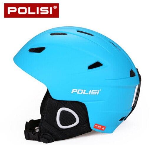 ФОТО POLISI Professional Men Women Ski Snow Helmet Ultralight Snowboard Skate Skiing Helmet Capacete Extreme Sport Protective Gear