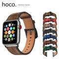 Ремешок для часов HOCO  из натуральной кожи с бамбуковым узором  для Apple Watch 5  4  3  2  1  44  42  40  38 мм