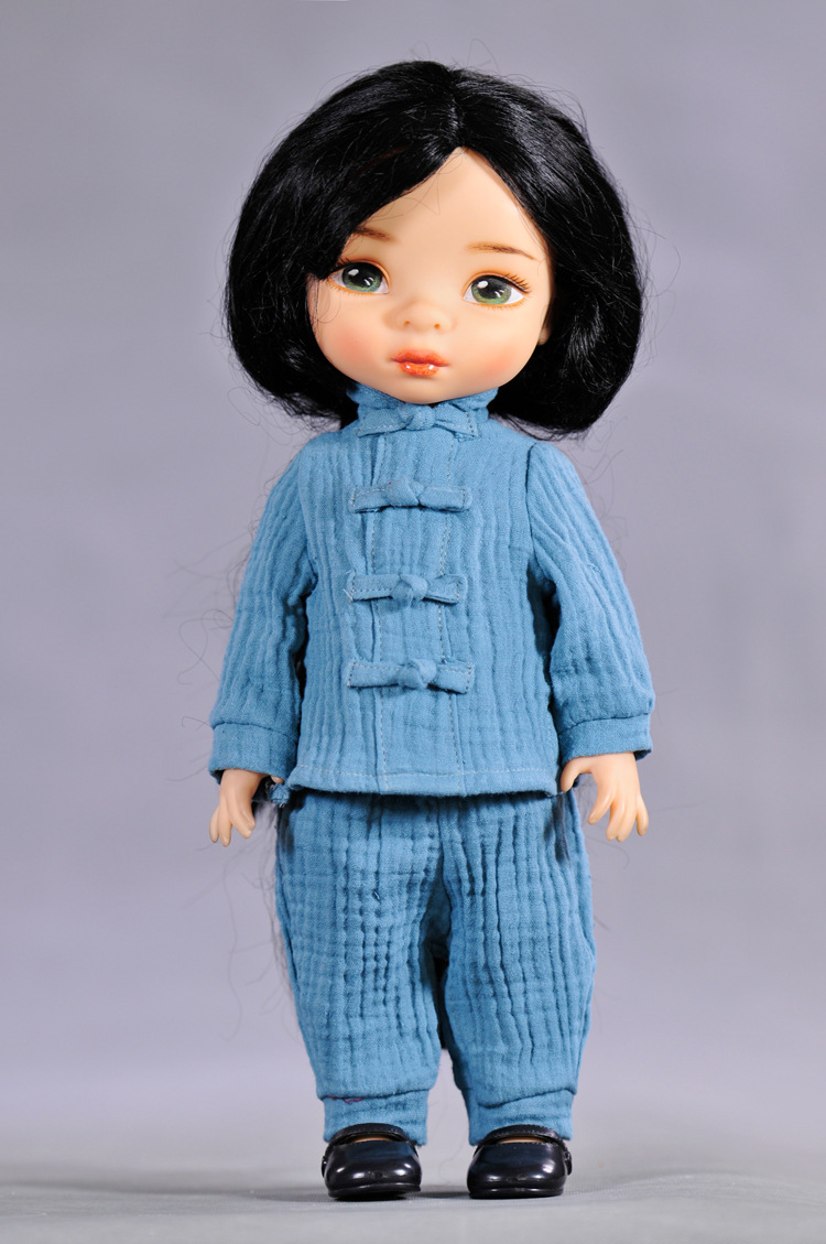 free shipping One Set doll clothes and accessories Cotton suit baby dolls 7 colours bjd Toy