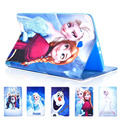 New Case for galaxy Tab E 9.6 / T560 / T561 The white Snow Queen Ice Princess Anna Elsa Olaf tablet Cover Flip stand shell coque
