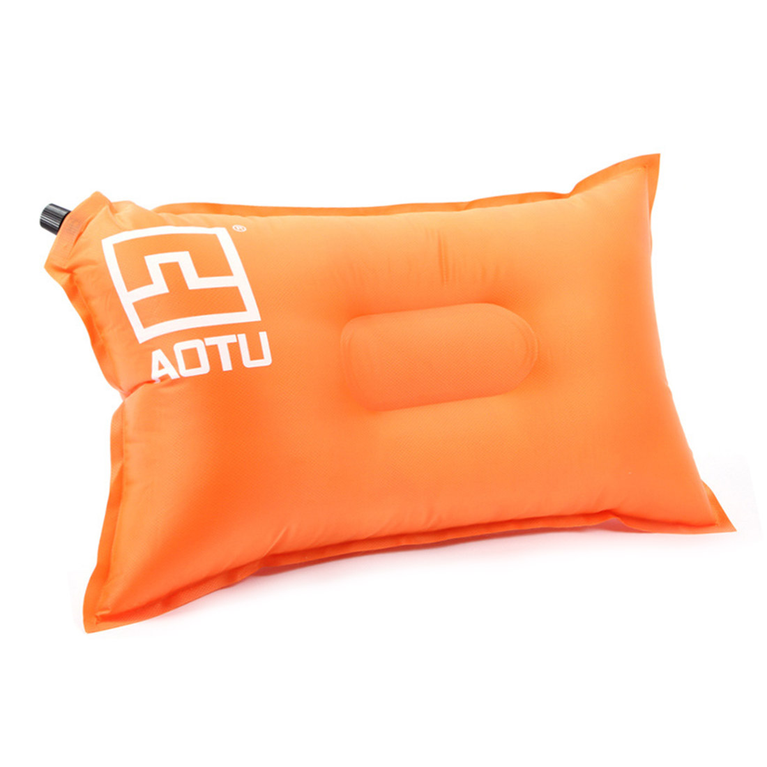 AOTU Automatic Inflatable Outdoor Pillow, Orange(China (Mainland))