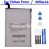 Ulefone Power Battery Large Capacity 6050mAh Batterie Bateria Accumulator AKKU Tools
