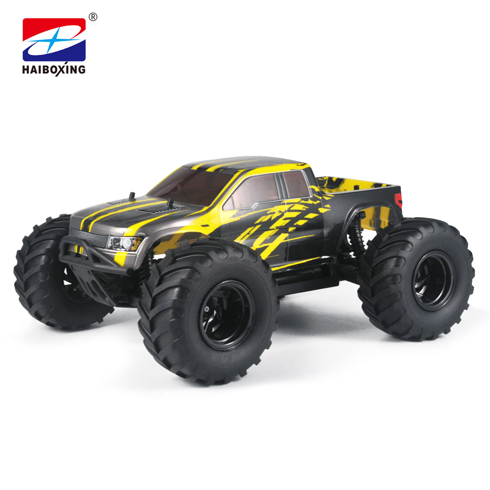 HBX 10683 RC Car 4WD 2.4Ghz 1:10 Scale 55km/h High Speed Remote Control Car Electric Powered Off-road Vehicle MONSTER TRUCK цена