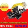 NS Pro nspro caixa box com 23 cabos incluem c3300k cabos para samsung caixa de desbloqueio e flash e reparação com frete grátis